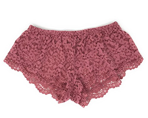dy by Victoria Lace Sleep Short X-Small Rose ()