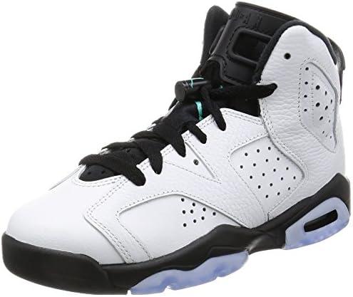 premium selection a3f0f ea4f0 Jordan Nike Kids Air 6 Retro BG Basketball Shoe