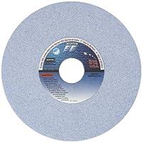 "Norton 5SG60-JVS Type 01 Vitrified Straight Toolroom Grinding Wheel, Ceramic Alumina, 7"" Diameter x 1/2"" Width, 1-1/4"" Arbor, 60 Grit, Grade J, Blue (Pack of 1)"