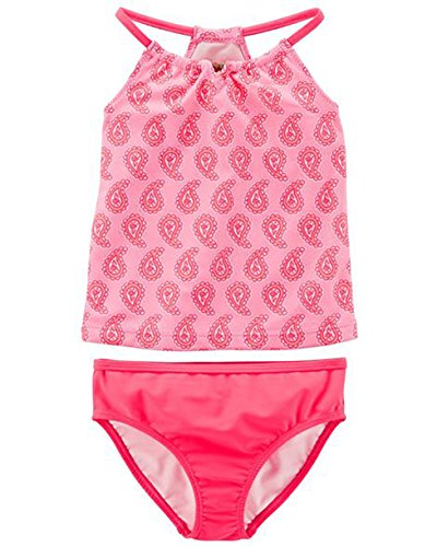 Carters Pink 2 Piece - Carter's 2-Piece Swimsuit Girls (4-5)