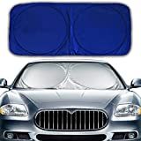 Hippo Front Car Windshield Sunshade Standard Sun Shade - Best Reviews Guide