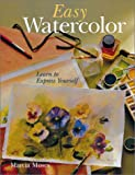 Easy Watercolor, Marcia Moses, 0806995424
