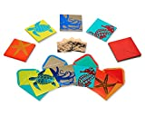 Papyrus Blank Cards with Envelopes, Sea Life