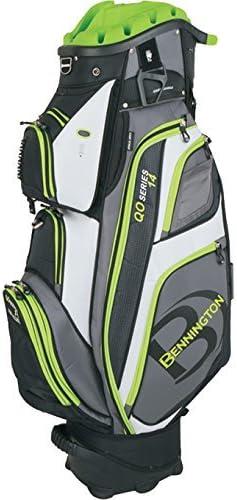 Bennington qo-14 Quiet Organizerゴルフカートバッグ – ライムby Bennington