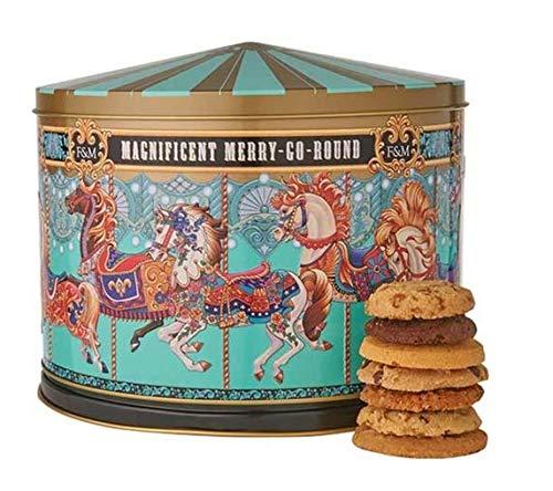 Fortnum & Mason Merry Go Round Musical Biscuit Tin, 500g