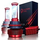 9007 5000k headlight bulbs - LIGHTENING DARK 9007 LED Headlight Bulbs Conversion Kit (Hi/Low), CREE XPL 6K Cool White,7200 Lumen - 3 Yr Warranty