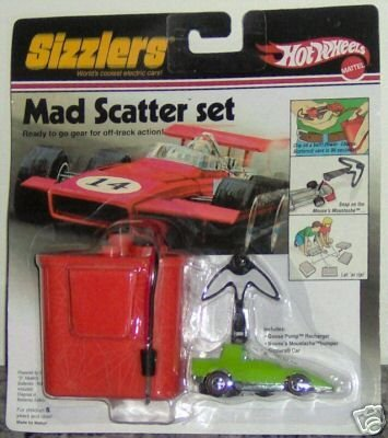 Sizzlers Hot Wheels Mad Scatter Set