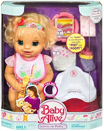 Baby Alive Learns to Potty Doll