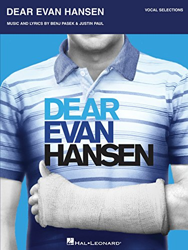 Dear Evan Hansen Songbook: Vocal Selections