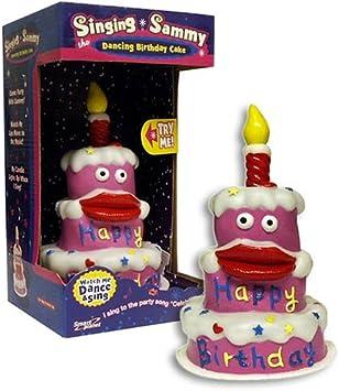 Tremendous Singing Sammy Birthday Cake Amazon Co Uk Toys Games Personalised Birthday Cards Paralily Jamesorg