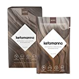Synchro Keto Manna - Ketogenic Chocolate Fudge - 12g MCTs - Keto Dessert Snack Perfection - Low Carb (Box of 10 Packets)