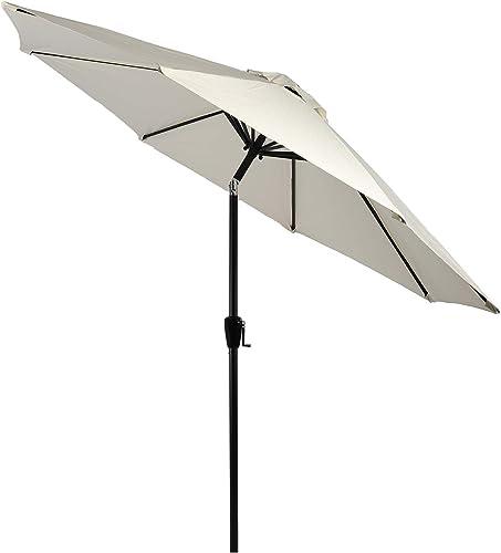 10' Patio Umbrella 2Years Colorfast Outdoor Market Table Umbrella