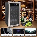 Nutrichef PKCWC15 15 Bottle Refrigerator-White