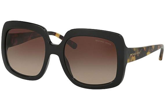 e250b0435e976 Michael Kors Lunettes de soleil femme MK2036F BLACK TORTOISE  Amazon ...