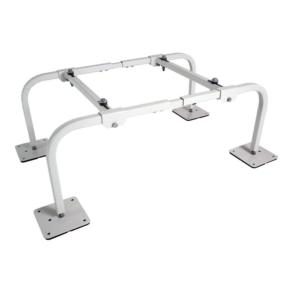 Quick-Sling QSMS1201 Wide Mini Split Stand, 14 Gauge Square Steel Tubing, 400 lb. Maximum Capacity, Fits All Mini Split Brands on the Market, 12'' Height, 40'' Length, Steel