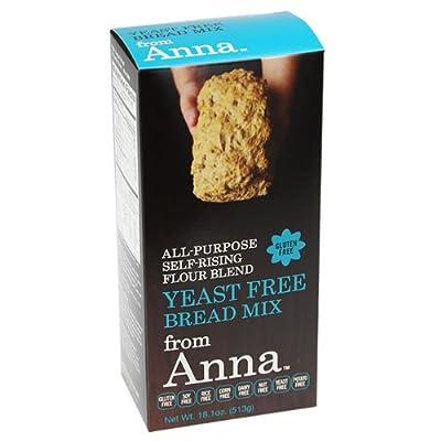 Breads from Anna Gluten & Allergen-Free Baking Mixes Yeast Free Bread Mix 18.1 oz. (a)