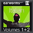 Rapid Italian: Volumes 1 & 2 Hörbuch von Earworms Learning Gesprochen von: Marlon Lodge