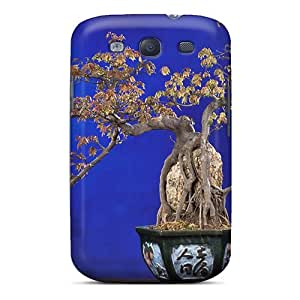 S3 Scratch-proof Protection Case Cover For Galaxy/ Hot Interesting Bonsai Phone Case