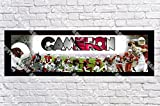 Personalized Arizona Cardinals Banner - Includes Color Border Mat, With Your Name On It, Party Door Poster, Room Art Decoration - Customize