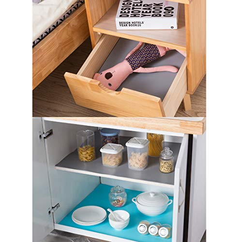 Polly Online Shelf Drawer Liner Refrigerator Pad EVA Non-Adhesive Cupboard Cabinet Mat Non-Slip Table Cover Mat (50x150cm) by Polly Online (Image #4)