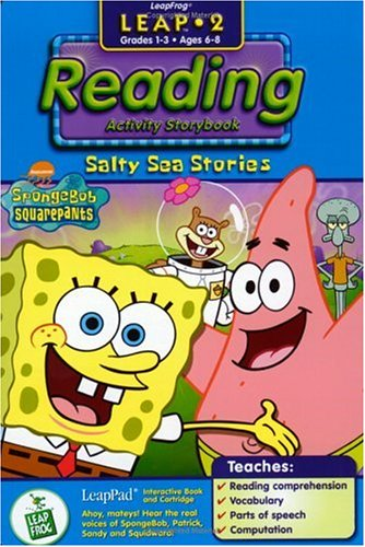 - LeapFrog LeapPad Educational Book: SpongeBob SquarePants Salty Sea Stories