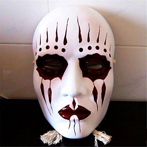 Gmasking Resin Slipknot Joey Cosplay Mask+Gmask Helmet Keychain