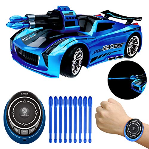 Remote Control Car, High Speed Racing Car with USB Charger, Multi Function and LED Light, Smart Watch Voice Command Remote Control Car