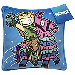Jay Franco Fortnite Ranger & Llama Decorative Pillow Cover - Throw Pillow Cover - Kids Super Soft Bedding (Official Fortnite Product)
