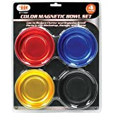 magnetic bolt tray - IIT 17307 Magnetic Color Parts Bowl Set, 4Piece,