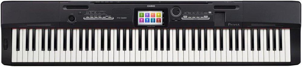 Casio PX-360BK 88-Key Digital Piano with Power Supply by Casio (Image #1)