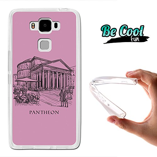 Becool - Cover Gel Flexible Archos Diamond 2 Plus, TPU Case made out of the best Silicone, protects and adapts flawlessly to your Smartphone, together with our exclusive designs. Pantheon