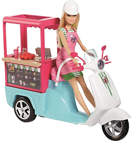 Barbie Bistro Cart Playset - Bakery Playset Barbie