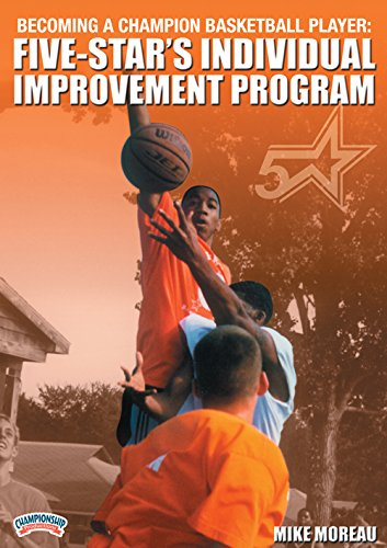 Championship Productions Becoming A Champion Basketball Player: Five-Star's Individual Improvement Program DVD (Athlete With Most Championships In Any Sport)