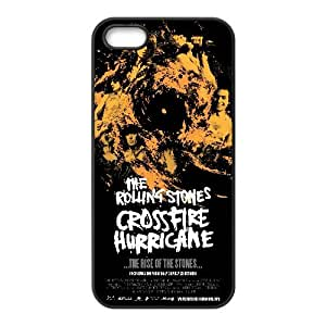 iPhone 5 5S Case Black Rolling St Cell Phone Case Cover C8G2YJ
