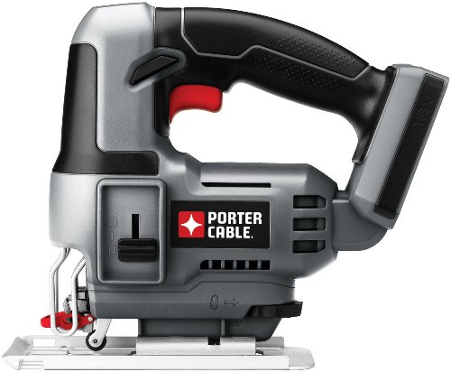 PORTER-CABLE Bare-Tool PC18JS 18-Volt Cordless Jig Saw Tool Only, No Battery