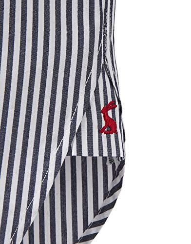 Stripe Attraverso Womens Camicia Joules 19 S Navy Button Ricamo s Laurel wFBxZq7
