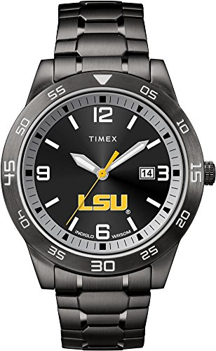 Sport Tigers State Steel Watch (Timex LSU Tigers Louisiana State Men's Black Acclaim Watch)