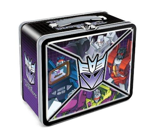 Aquarius Transformers Decepticon Lunchbox