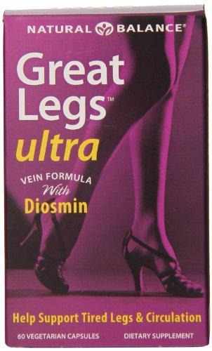 Natural Balance Great Legs Ultra Veg Capsules, 60 comte