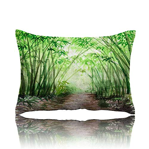 Pillow Bamboo Forest Toddler Pillow 14