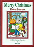 Merry Christmas Hidden Treasures: Hidden Picture Puzzles