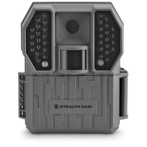 Stealth Cam 8MP Camera with 8Gb SD Card & (6)AA Duracell Combo, Flat Dark - Rx-1-36