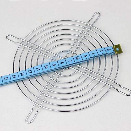 FidgetFidget 10pcs 135mm Metal Wire Fan Grill Finger Guard Protection for PC 13.5cm
