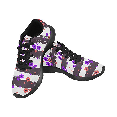 InterestPrint Women's Cross Trainer Shoes Athletic Sports Shoes Breathable Lightweight Fashion Sneaker Size 7 B(M) US = EUR37 by InterestPrint