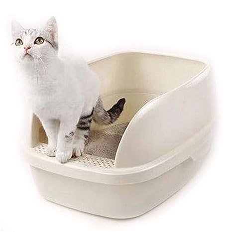 Yuqianqian Caja de Aseo para Mascotas Sartén para camillas ...