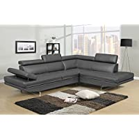 NHI Express Logan Sofa Set (1 Pack), Gray