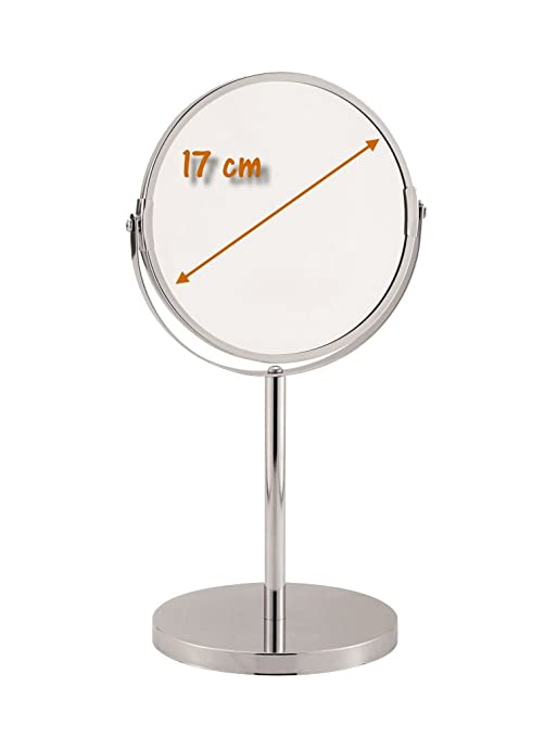 Specchio da bagno specchio cosmetico da barba specchio altezza 34 cm ...