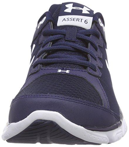 Under Armour Ua Micro G Assert 6 - Zapatillas de running Hombre Azul - Blau (MDN/WHT/WHT 410)