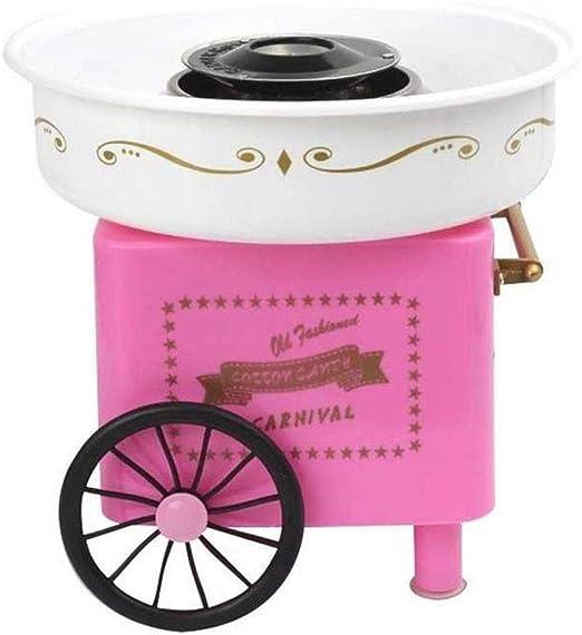 Bycws Cotton Candy Machine Máquina eléctrica de Grado alimenticio Segura Mini para Fiestas de cumpleaños de Regalo para niños (220V): Amazon.es