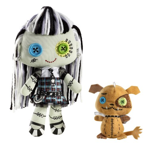Monster High Friends Plush Frankie Stein -